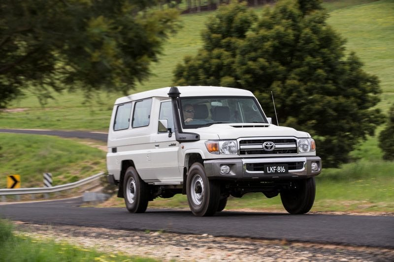 2016 Toyota LandCruiser 70 Series Troop Carrier GXL