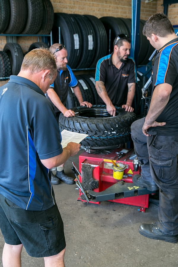 tyre fitting  1