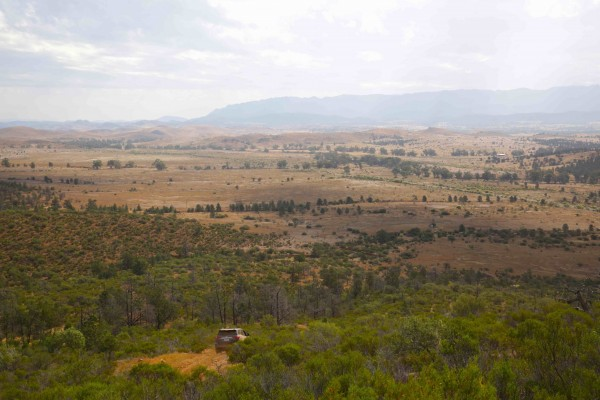 The Ikara-Flinders Ranges is a popular 4X4 destination in South Australia