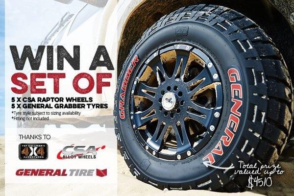 General Tire CSA Wheels win Amarok