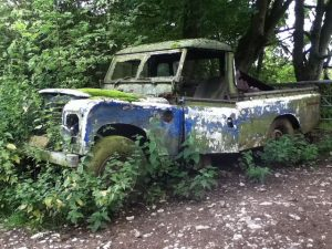 "Ol' Barry is hoping that his old Land Rover, currently advertised on Gumtree, is going to net him a tidy figure. ""It's in great original condition,"" he told us. ""Just needs some new points in the distributor, and it's ready for a roadworthy."""