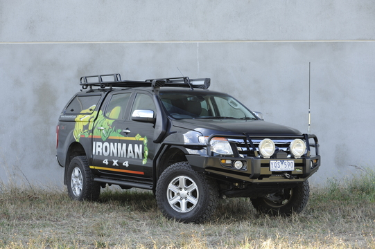 Ironman 4X4 airbag compliant side steps