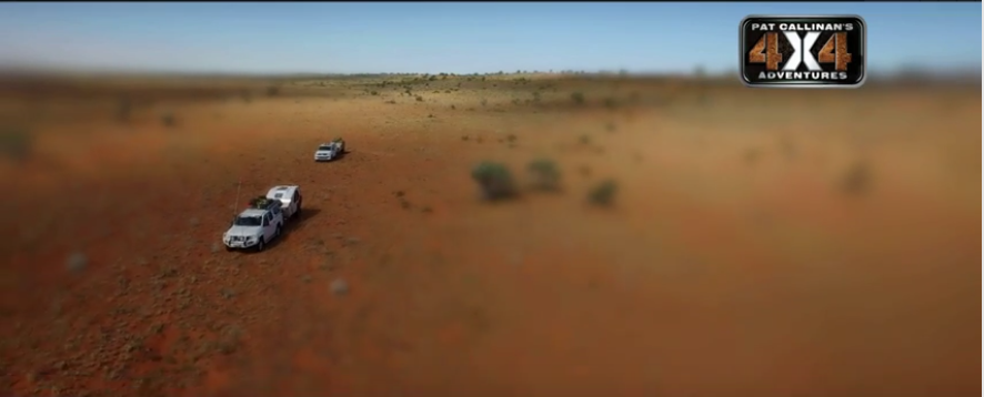 Geographic Centre of the Simpson Desert - Pat Callinan's 4X4 Adventures