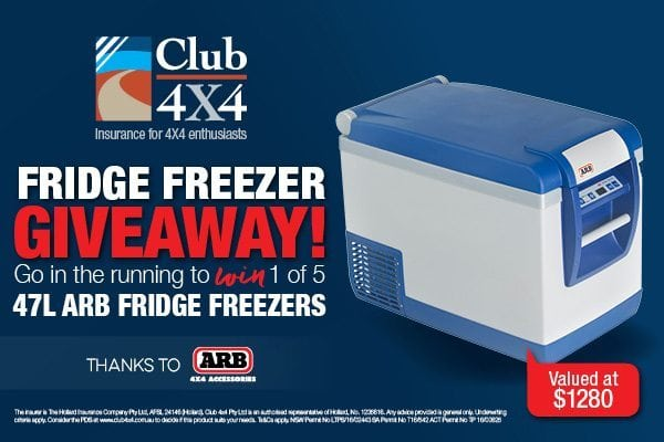 Club 4X4 ARB Fridge Giveaway